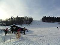 Ski slope in Polevsko 7 km away from Kytlice